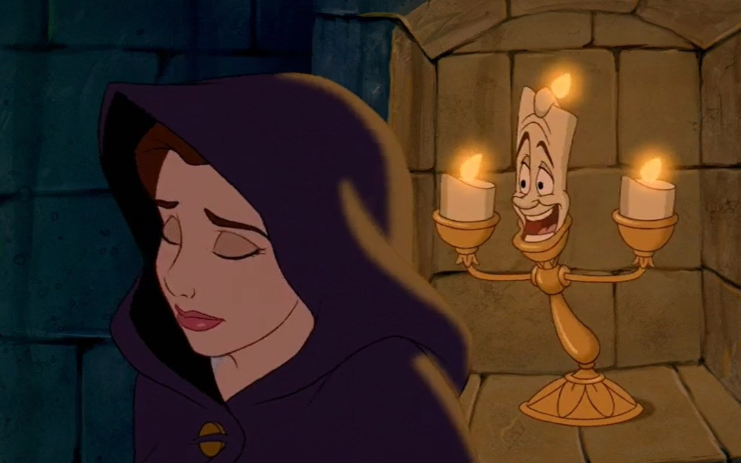 Beauty and the Beast, Minute 22: A lot of Suspense