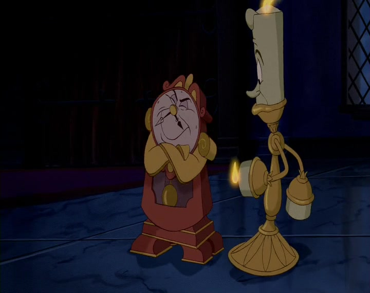 Beauty and the Beast, Minute 14: Close That At Once!