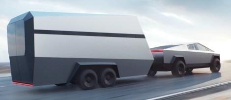 Tesla Cybertruck Towing
