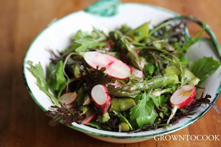 May garden salad