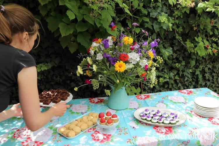 midsummer tea party