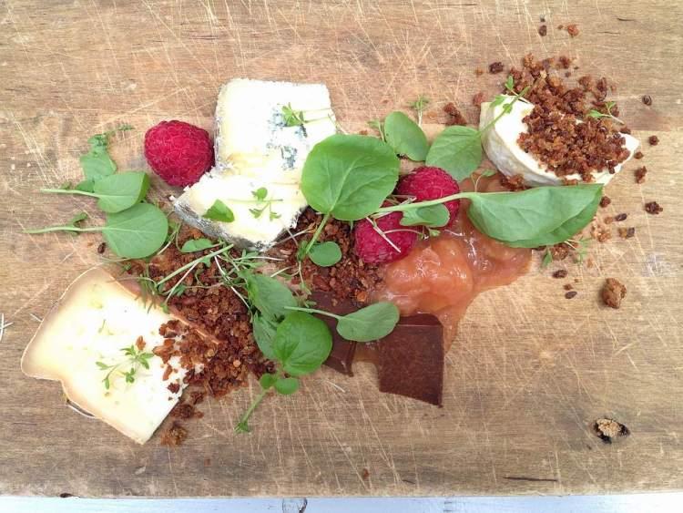 cheese platter Kolonihagen