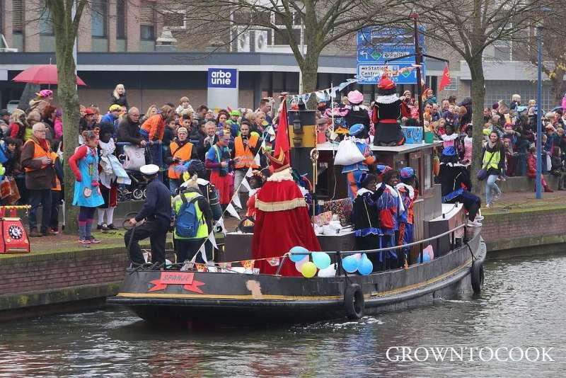 Sinterklaas arrival