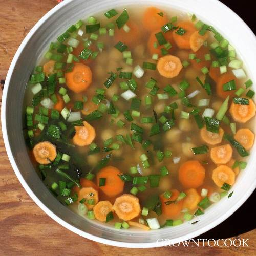 chickpea broth