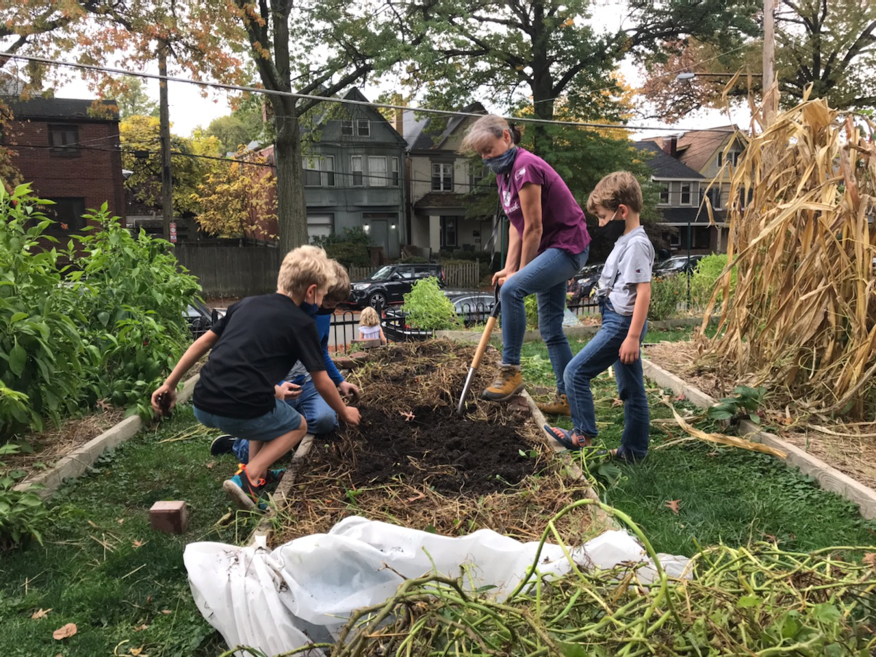 School Gardens: A Place of Shared Knowledge & Care