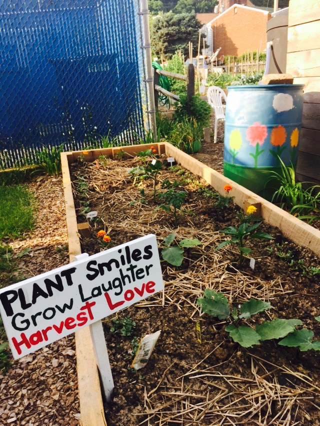Merveilleux Plant Smiles, Grow Laughter, Harvest Love