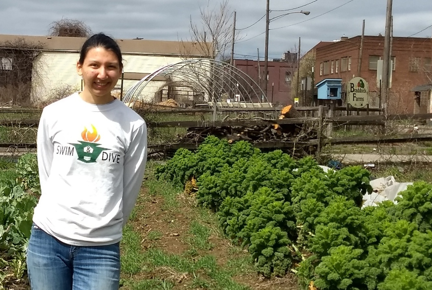Meet the Grower: Nisha Gudal, Braddock Farms Apprentice