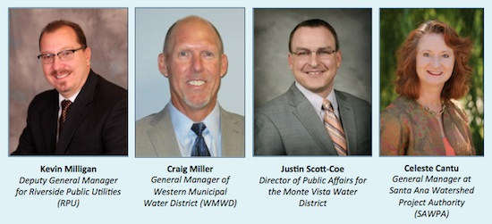 water policy panelists