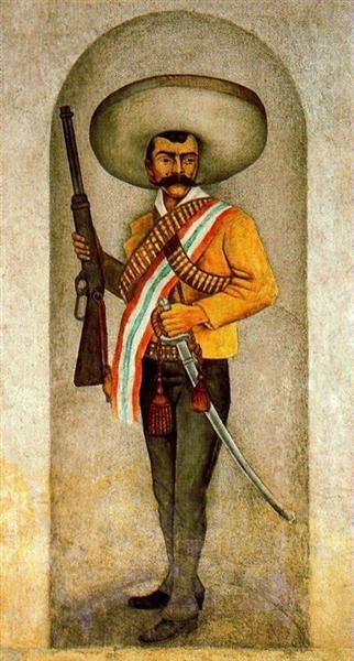 Zapata - Diego Rivera, 1931