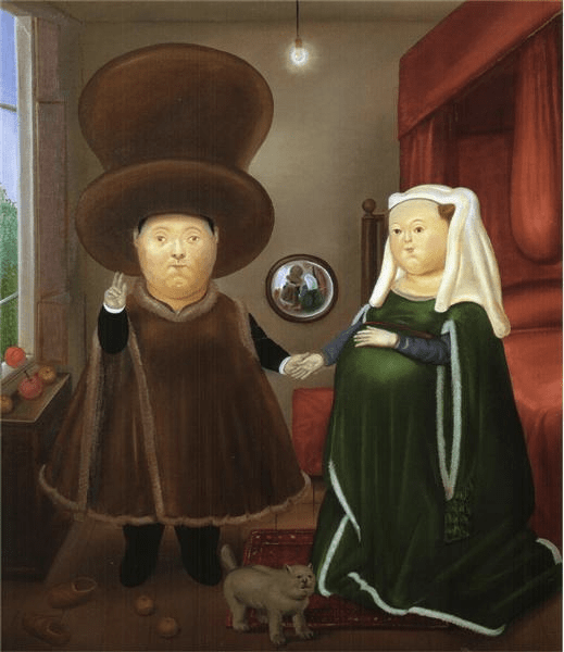 After the Arnolfini Van Eyck, 1978