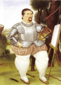 Fernando Botero Art Study in Spanish