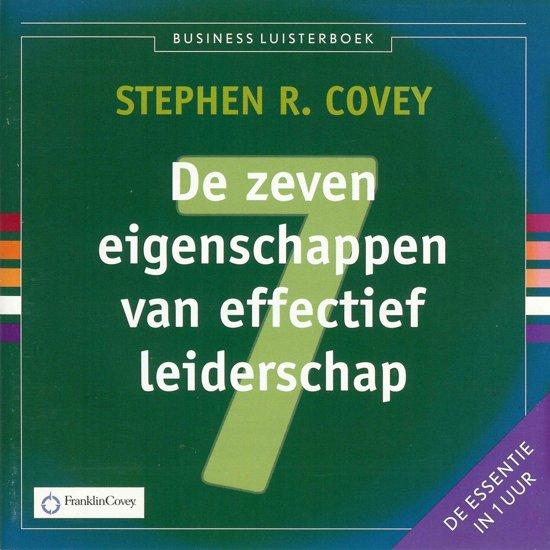 De zeven eigenschappen van effectief leiderschap Luisterboek