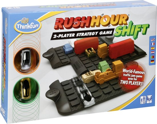 Think fun Rushhour shift 2-Player Strategy Game