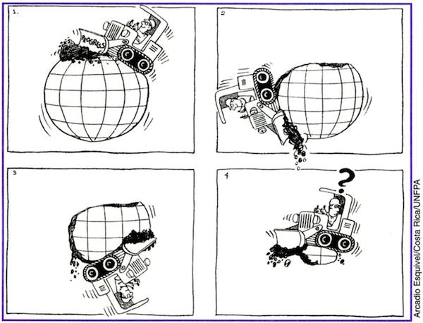 Progress destroying planet