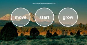 Central Oregon economic development come-on