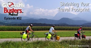 bicyclists touring countryside
