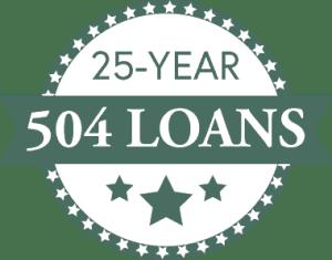 25-YEAR 504 LOANS BADGE