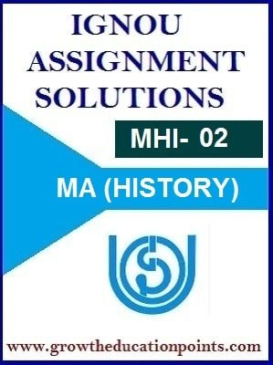 IGNOU MHI-02 SOLVED ASSIGNMENT