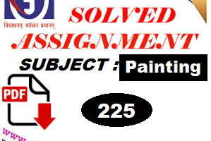 Nios Solved Assignment-Painting 225