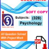 Psychology-(328) Solved tma