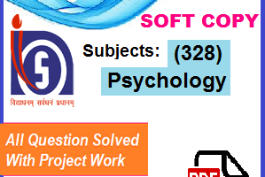 Psychology-(328) Solved tma