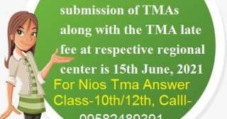 Nios tutor marked assignment