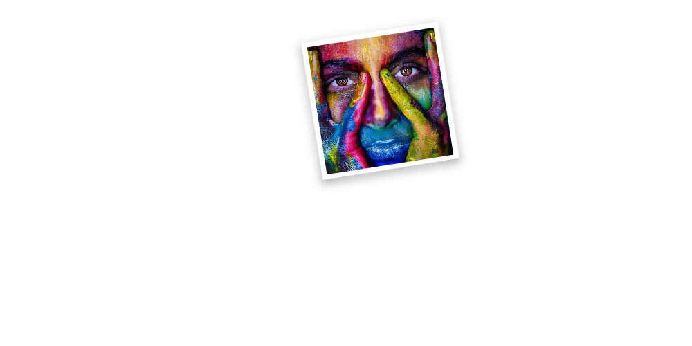 painted face