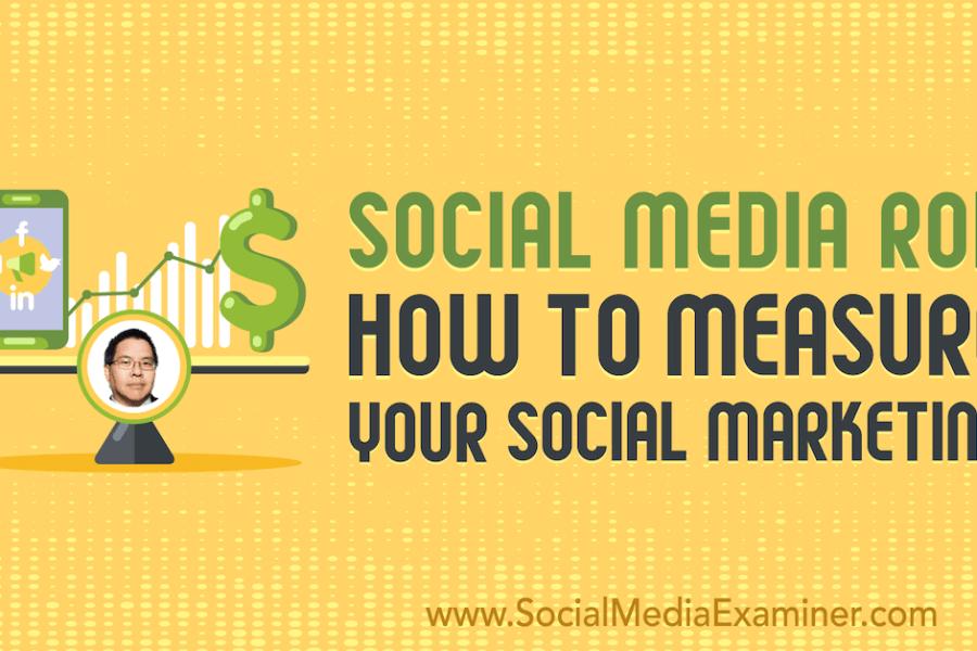 Social Media ROI: How to Measure Your Social Marketing : Social Media Examiner
