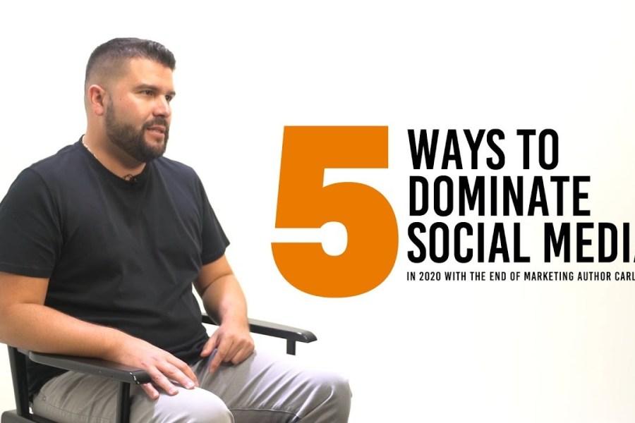 5 Social Media Marketing Tips to Dominate in 2020