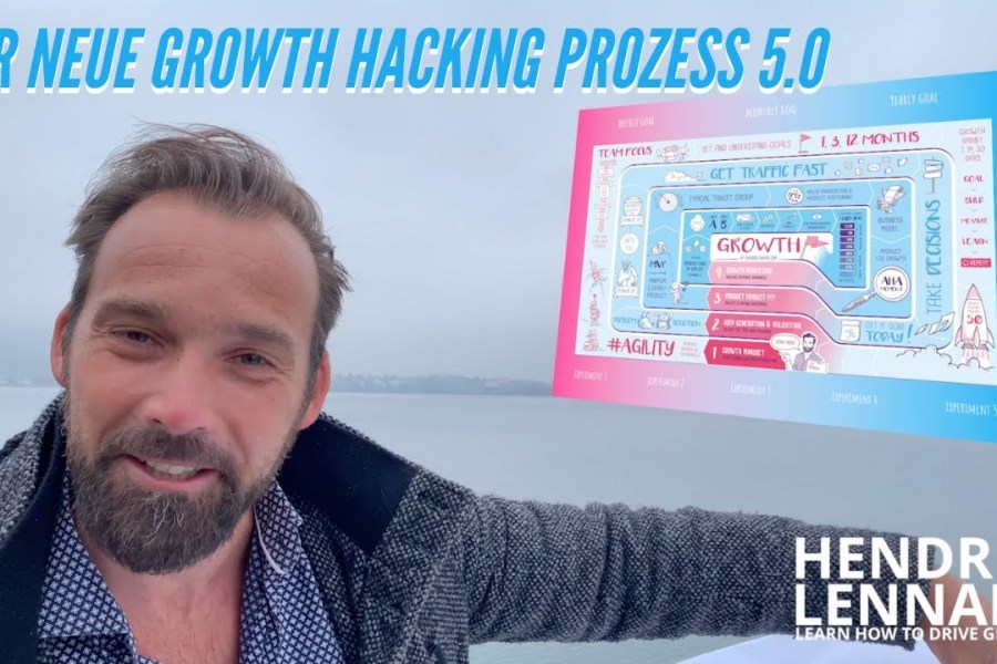 Growth Hacking Anleitung: Provoziere Step-by-step Wachstum mit dem Growth Hacking Prozess V5.0