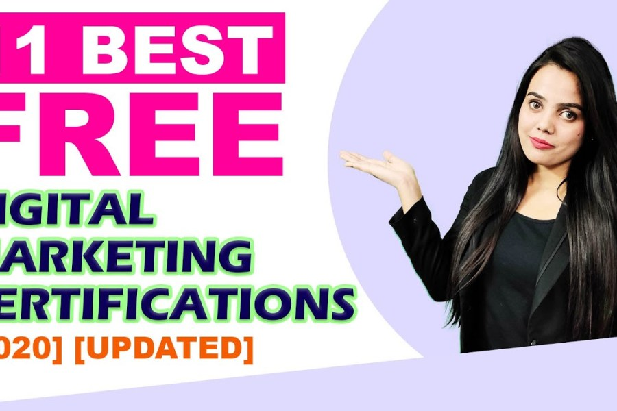 Best Certifications in Digital Marketing 2020, Free Google AdWord Certification in Digital Marketing