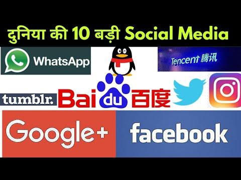 Top 10 Social media platform's   2020