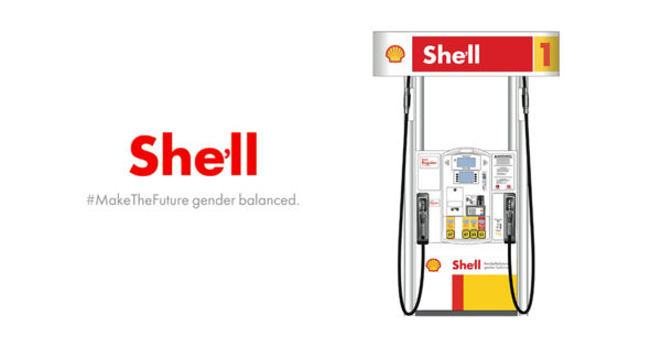 Yes, Shell Will Become She'll on International Women's Day – Adweek