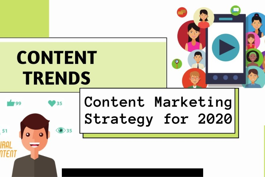 8 Effective Content Marketing Strategy Trends in 2020  for Blogging, Guest Post & Website Ranking