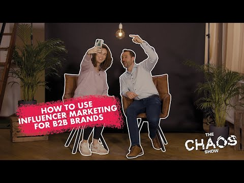 How to use Influencer Marketing for B2B brands with Yasmin Vantuykom I eFluenz I The Chaos Show Ep 5