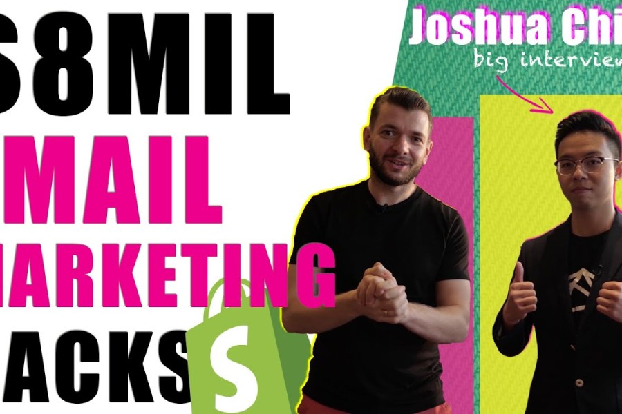 $8Mil Email Marketing Strategy and Tools for Shopify Dropshipping | Joshua Chin Interview