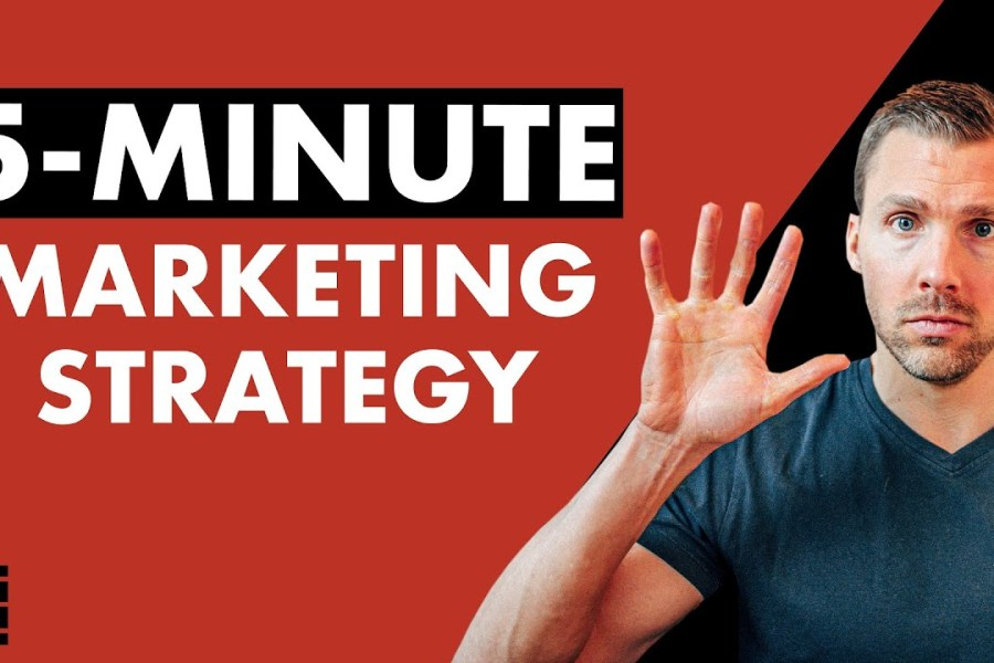 Build A Marketing Strategy For Your Business In 5 Minutes | Digital Marketing
