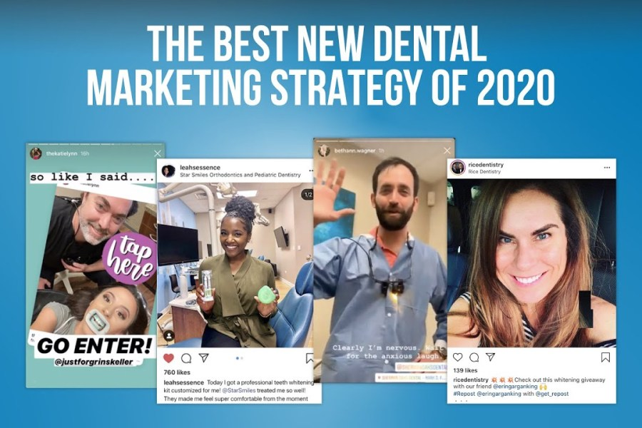 Dental Influencer - The Best New Dental Marketing Strategy for 2020