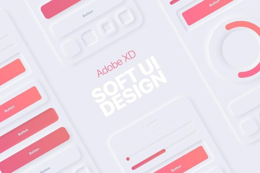 Soft UI Design in Adobe XD #Neumorphism