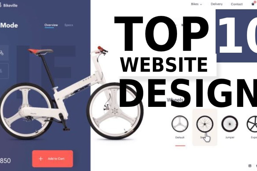 Top 10 Extremely Stunning Website Design For Inspiration