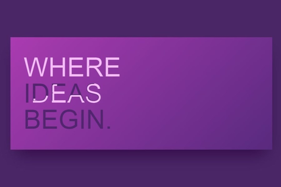 5 Awesome Text Animation You Must See | Web Design Inspiration