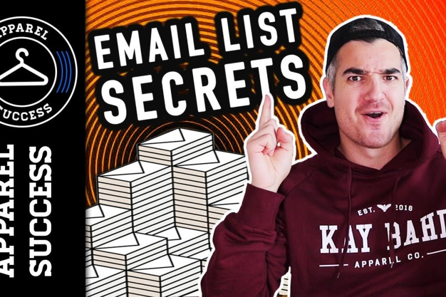 Build Your Clothing Brands Email List FAST: Rob's Secret Email Marketing Strategy Revealed