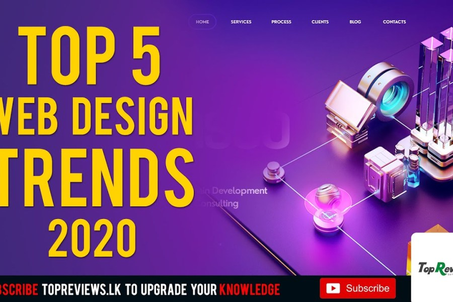 TOP 5 Web Design TRENDS 2020 | Web Design ideas | UI/UX Trends 2020