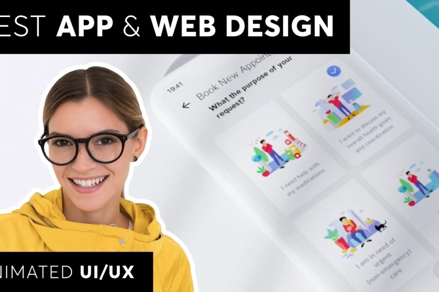 Top 10 app & web design inspiration with tips and tricks!