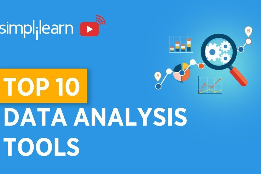 Top 10 Data Analysis Tools | Top Data Analytics tools | Data Analytics | Simplilearn