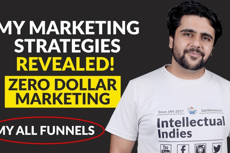 My Marketing Strategies Revealed! (Funnel Marketing) 100% Free Strategies