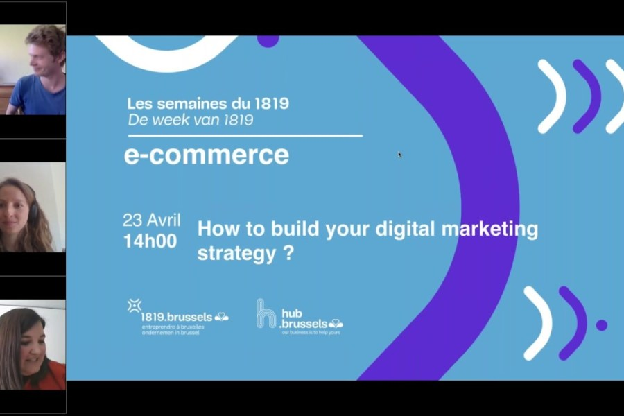 Webinar: How to build your digital marketing strategy