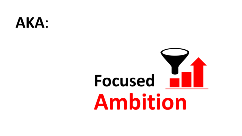 focused ambition is key to accelerating growth
