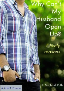 husbands, marriage communication, why can't my husband open up