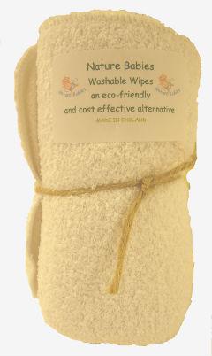 Naturebabies Washable Wipes